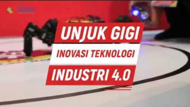 Embedded thumbnail for Unjuk Gigi Inovasi Teknologi Industri 4.0