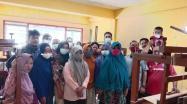 Bimbingan Teknis (Bimtek) Pengembangan Kain Cual bagi pengrajin tenun kain cual Kabupaten Bangka Barat (Babar) di Gedung M3 Muntok, Sabtu (27/3) Secara Resmi di Tutup.