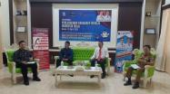 "Dinas Perindustrian dan Perdagangan (Disperindag) Provinsi Kepulauan Bangka Belitung (Babel) mengelar acara talksow Harkonas dengan tema ""Perlindungan Konsumen (PK) Menuju Indonesia Maju""."